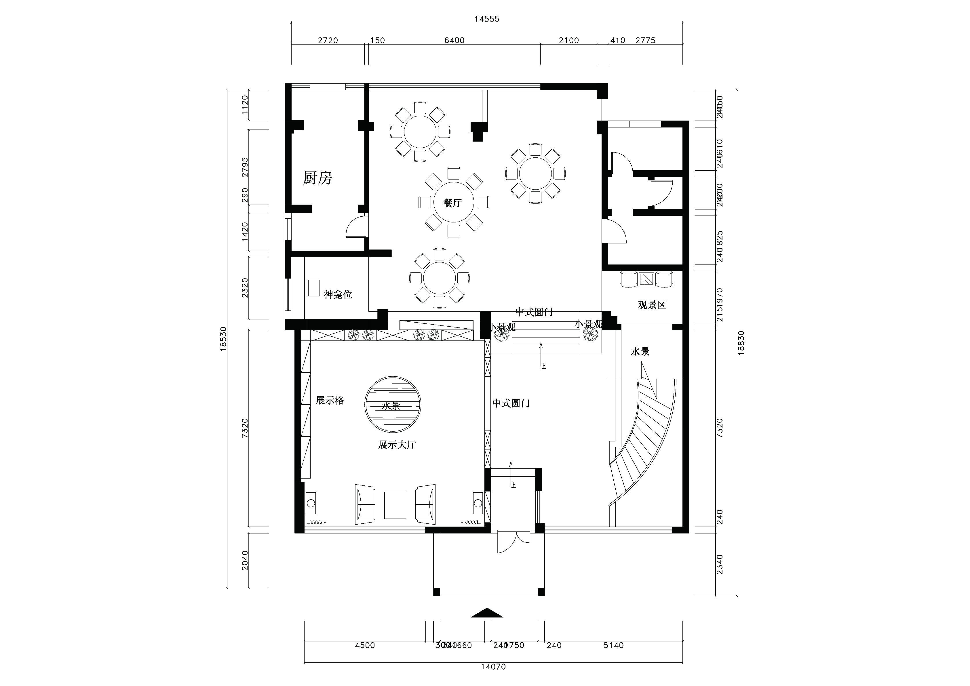 高贵,典雅---中式会所1 - 会所设计 - 贵阳室内设计网