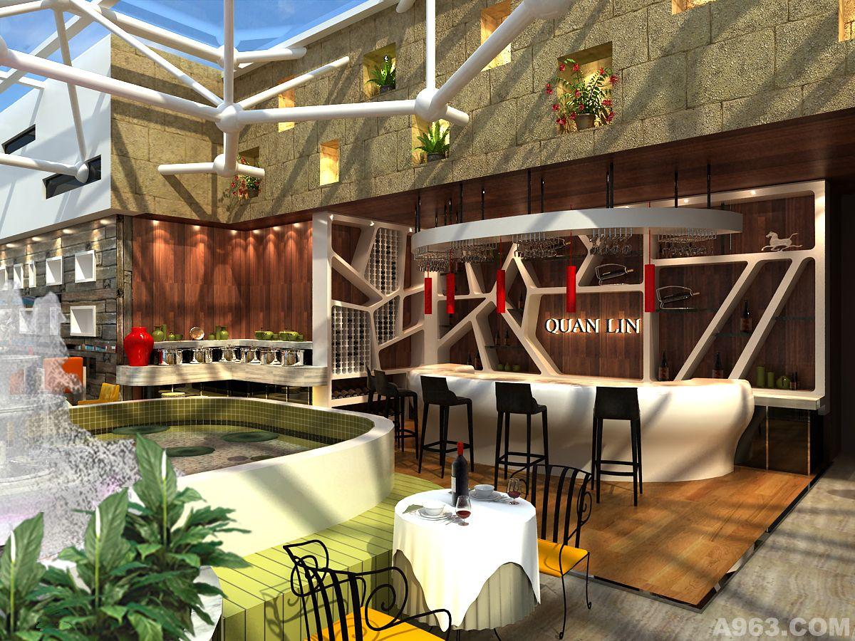 全林酒店西餐厅设计